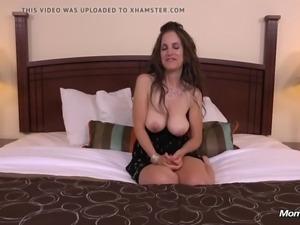 Big booty natural tits milf pops anal cherry pov