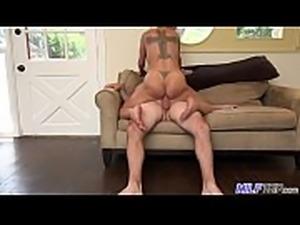 MILF Trip - Super horny blonde big-boobed MILF can&#039_t get enough cock