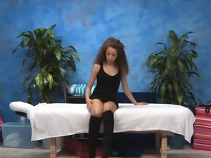Pipe hungry wonderful chick Chole Starr gets a big one