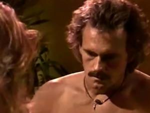 Sexy blonde MILF with big boobs Honey West