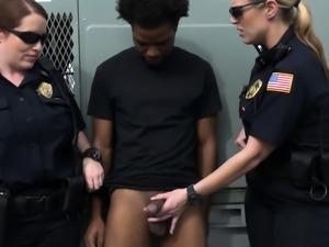 Milf cops make perverts cock hard