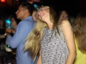 beautiful Ukrainian girls are dancing. city Sumy.
