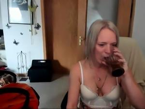 Gorgeous Mature Blonde Solo Masturbation
