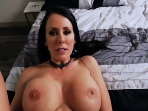 Ike Diezel fuck Reagan while she squeeze