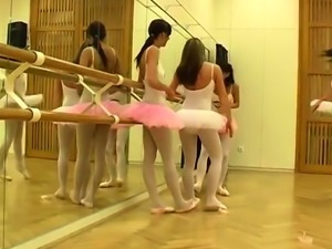 Lesbian heel worship and bound squirt Hot ballet dame orgy
