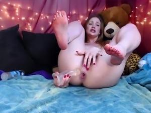 Brunette Teen Solo Masturbation