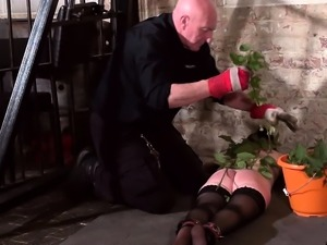 Stinging nettle bdsm and amateur milf slave