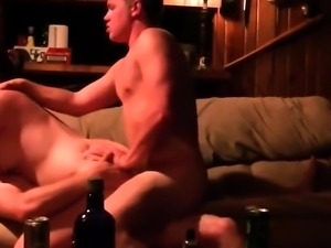 Slutty GF Pleasing Two Dudes