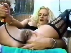 Gorgeous Mature Blonde Solo Masturbation