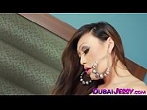 Glamorous Jessy Dubai penetrated after 69 with ladyboy