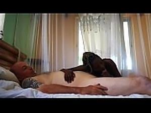 Best ebony massage ever