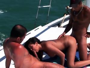 Babalou outdoor trio on boat