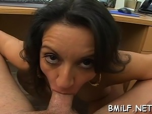Sexual brunette floosy Persia with huge tits gets pounded