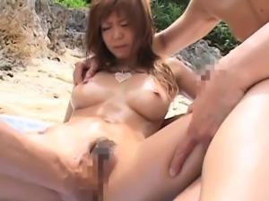 Dissolute asian Mizuki Ishikawa gets banged hard