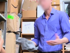 Thief fucked by big-dicked secuirity guard