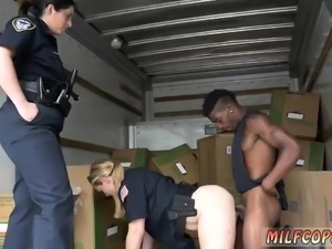 Hot blonde milf masturbates and japan hd Black suspect taken