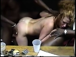 Asian milf Ava rough interracial gangbang BBC