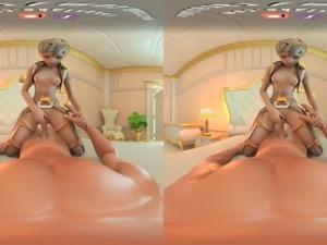 Take DVa for a ride - 3D vr porn movies