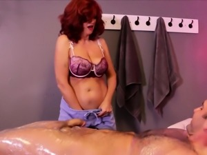 You dont mess with Redhead milf masseuse Andi James and