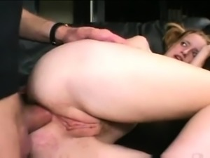 Blonde MILF taking care of a small dick