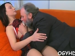 Penis riding ends with lots of vigorous girlie 's orgasms