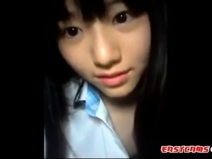 Attractive Korean girl's amateur self video