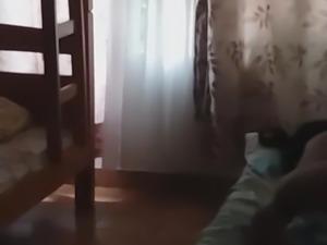 Couple sleep after fuck