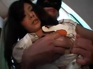 Busty Japanese nipples licking 2