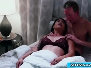 Busty detective fucking her client