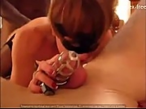Hotwife Cucks Hubby Cleans