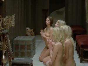 Nude girls praying god