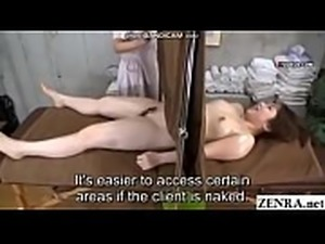 [Subtitle]Lesbian massage subtitles | Full substitled video at http://xsubs.net