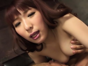 Japanese  Asuka Moriomto is very kinky during sex uncensored