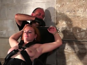 Upside down pussy punishment