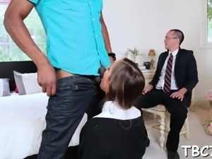 Alluring girl gets fucked extremely hard