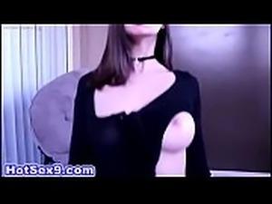 Natural Brunette Teen, Joseline Kelly, is an Anal Slave for Big Black Cock