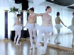 College teen orgy hd and extreme Ballerinas