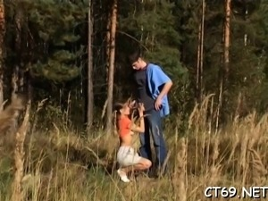 Gorgeous teen russian Marina fingered and licked