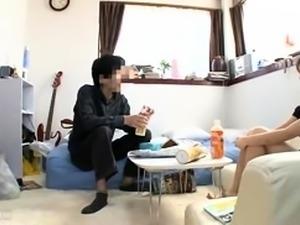 Sweet Oriental babe enjoys an intense fucking on hidden cam