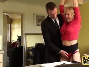 Mature submissive throats