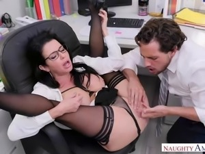 No orgasm fear has veronica avluv demand office anal sex