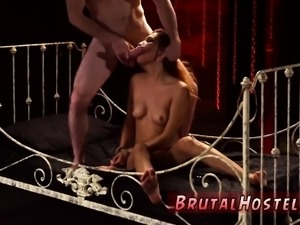Extreme brutal anal gangbang and cock hero bdsm xxx Poor lil