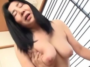 hot&horny brunette japanese mature