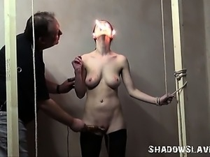 Merciless slaveslut torture of Emily X in extreme pain and hardcore...