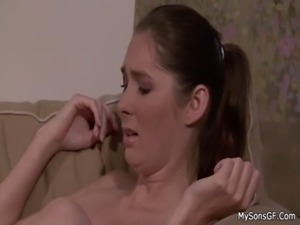 Father in law explores her young pussy free