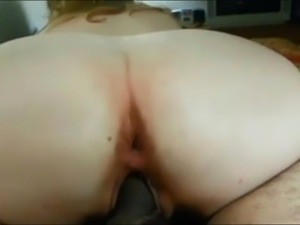 Cum Feeding my mature big ass wife Veronica