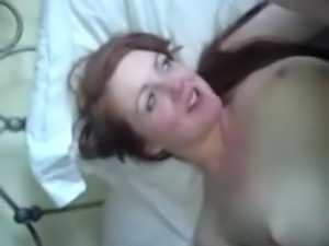 hot redhead girl first time anal (hot)