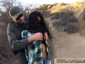 Police strip search and fuck Pretty latin girl Josie Jaeger
