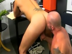 Nudist teacher  gay sex fuck photo xxx Horny Office