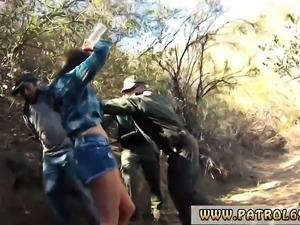 Anal pull out cumshot and police brutality xxx Mexican borde
